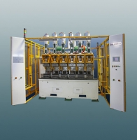 Threshold punching machine